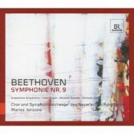 ベートーヴェン(1770-1827)/Sym 9 : Jansons / Bavarian Rso & Cho Stoyanova L.braun Schade Volle (Hyb)
