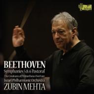 Symphonie Nos,  5,  6,  Die Geschopfe des Prometheus Overture : Mehta  /  Israel Philharmonic