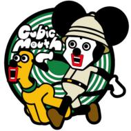 UDF CUBIC MOUTH Rubber Coaster (Mickey & Pluto)