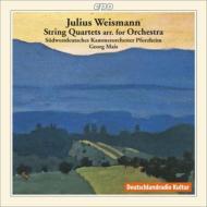弦楽四重奏曲集(弦楽合奏版) マイス&南西ドイツ室内管弦楽団