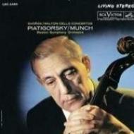 ドヴォルザーク:チェロ協奏曲、ウォルトン:チェロ協奏曲 ピアティゴルスキー、ミュンシュ&ボストン響