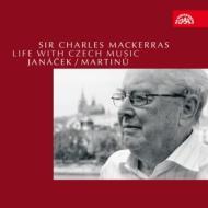 『チェコ音楽に捧げた生涯〜ヤナーチェク&マルチヌー篇』 マッケラス&チェコ・フィル、プラハ放送響(4CD+1DVD)