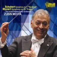 Schubert Symphony No,  9,  Mozart Symphony No,  38,  : Mehta  /  Israel Philharmonic