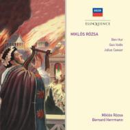 『ベン・ハー』より、『クォ・ヴァディス』より、『ジュリアス・シーザー』より ローザ&ナショナル・フィル、ロイヤル・フィル、他(2CD)