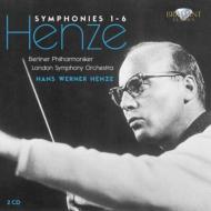 交響曲第1番〜第6番 ヘンツェ&ベルリン・フィル、ロンドン響(2CD)