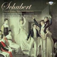 """Duette, Terzette, Quartette : Ameling, J.Baker, Schreier, Laubenthal, F-Dieskau, G.Moore (2CD)"""