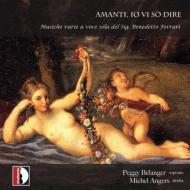 Amanti Io Vi So Dire: Belanger(S)Angers(Theorbo)