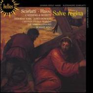 スカルラッティ、アレッサンドロ(1660-1725)/Cantatas: R.king / King's Consort +d.scarlatti Hasse: Salve Regina