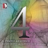 ヴィヴァルディ(1678-1741)/Four Seasons: D.monti(Vn) Rasi / Il Tempio Armonico