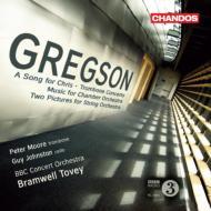 トロンボーン協奏曲、『クリスのための歌』、2つの風景、他 ピーター・ムーア、ジョンストン、トヴェイ&BBCコンサート管