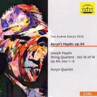 ハイドン(1732-1809)/String Quartet 63 64 65 66 67 68 (Op.64): Auryn Q