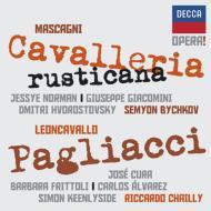『カヴァレリア・ルスティカーナ』(ノーマン、ビシュコフ&パリ管)、『道化師』(クーラ、シャイー&コンセルトヘボウ管)(2CD)
