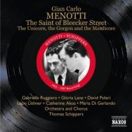 歌劇『ブリーカー街の聖人』全曲 シッパース&オーケストラ、ルッジェーロ、ポレリ、他(1955 モノラル)+『ユニコーン、ゴーゴン、マンティコア』(2CD)