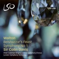 『ベルシャザールの饗宴』、交響曲第1番 デイヴィス&ロンドン交響楽団、ほか(2SACD)
