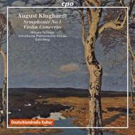 交響曲第3番、ヴァイオリン協奏曲 ゴロー・ベルク&デッサウ・アンハルト・フィル、ミリアム・チョップ(ヴァイオリン)