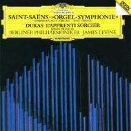 サン=サーンス:交響曲第3番『オルガン付』、デュカス:『魔法使いの弟子』 レヴァイン&ベルリン・フィル