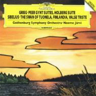 グリーグ:『ペール・ギュント』組曲、シベリウス:『フィンランディア』、他 ヤルヴィ&エーテボリ交響楽団