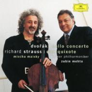 ドヴォルザーク:チェロ協奏曲、R.シュトラウス:『ドン・キホーテ』 マイスキー、メータ&ベルリン・フィル