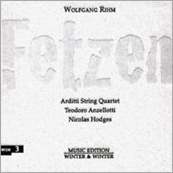Fetzen, String Quartet, 12, : Arditti Q Anzellotti(Accordion)Hodges(P)
