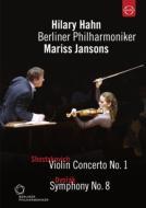 ドヴォルザーク:交響曲第8番、ショスタコーヴィチ:ヴァイオリン協奏曲第1番 ヤンソンス&ベルリン・フィル、ヒラリー・ハーン(2000年東京ライヴ)