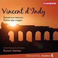 管弦楽曲集第4集(交響曲『イタリア』、交響組曲『海辺の詩』) ガンバ&アイスランド交響楽団