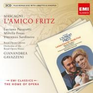 『友人フリッツ』全曲 ガヴァッツェーニ&コヴェント・ガーデン王立歌劇場、パヴァロッティ、フレーニ、他(1968 ステレオ)(2CD)