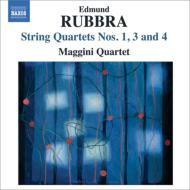 弦楽四重奏曲第1番、第3番、第4番 マッジーニ四重奏団