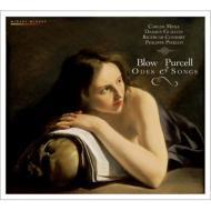 パーセル:オードと歌曲集、ブロウ:パーセルの死を悼む頌歌 ピエルロ&リチェルカール・コンソート、メーナ、ギヨン