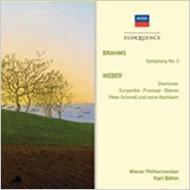 ブラームス:交響曲第3番、ヴェーバー:序曲集 ベーム&ウィーン・フィル(1953、1951)