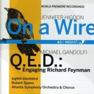 On A Wire: Eighth Blackbird Spano / Atlanta So & Cho