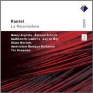 オラトリオ『復活』 コープマン&アムステルダム・バロック管、アージェンタ、シュリック、他(2CD)