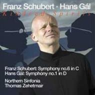 シューベルト:交響曲第6番、ガル:交響曲第1番 ツェートマイアー&ノーザン・シンフォニア