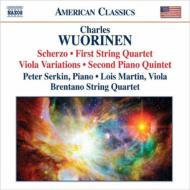String Quartet, 1, Piano Quartet, 2, Viola Macomber(Vn)Brentano Sq P.serkin(P)