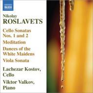 チェロとピアノのための作品集 コストフ、ヴァルコフ