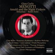 Amahl And The Night Visitors: Schippers / O Chet Allen +sebastian Suite: Mitropoulos /