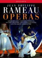 オペラ・ボックス〜『レ・ボレアド』、『カストールとポリュックス』、『優雅なインドの国々』、『レ・パラダン』、『ゾロアストル』、モテット、他(11DVD)