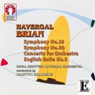 Sym, 10, 30, Concerto For Orchestra: Brabbins / Royal Scottish National O Bednall(Org)