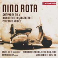 交響曲第3番、夕べの協奏曲、ディヴェルティメント・コンチェルタンテ ノセダ&フィラルモニカ900、ダグラス、ボット
