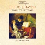 ハイドン:鍵盤楽器作品集、フックス:鍵盤楽器作品集 コーネン