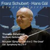 シューベルト:交響曲第9番『グレート』、ガル:交響曲第2番 ツェートマイアー&ノーザン・シンフォニア(2CD)