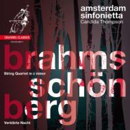 ブラームス:弦楽四重奏曲第1番(弦楽合奏版)、シェーンベルク:浄夜 アムステルダム・シンフォニエッタ
