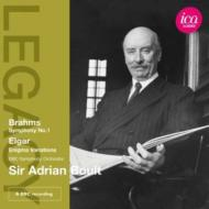 ブラームス:交響曲第1番(1976)、エルガー:エニグマ変奏曲(1971) ボールト&BBC交響楽団(ステレオ・ライヴ)