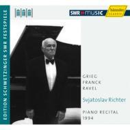S.Richter Piano Recital 1994 Schwetzingen -Grieg, Franck, Ravel