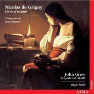 Premier Livre D'orgue: Grew(Org)