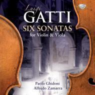 6 Sonatas For Violin & Viola: Ghidoni(Vn)Zamarra(Va)