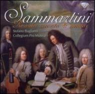 Recorder Concertos, Sonatasbagliano(Rec)Collegium Pro Musica: +giovanni Batista Sammartini