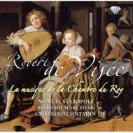 La Musique De La Chamber Du Roy-suites: Staropoli(Fl, Rec)Marchese(Theorbo)Contadin(Gamb)