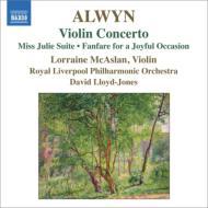 ヴァイオリン協奏曲、組曲『令嬢ジュリー』、ファンファーレ マカスラン、ロイド=ジョーンズ&ロイヤル・リヴァプール・フィル