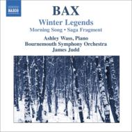 冬の伝説、朝の歌、サガ断章 ウェイス、ジャッド&ボーンマス交響楽団
