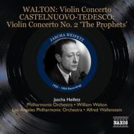 ウォルトン:ヴァイオリン協奏曲、カステルヌオーヴォ=テデスコ:ヴァイオリン協奏曲第2番、サン=サーンス:ハバネラ、他 ハイフェッツ